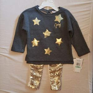 Toddler juicy couture set